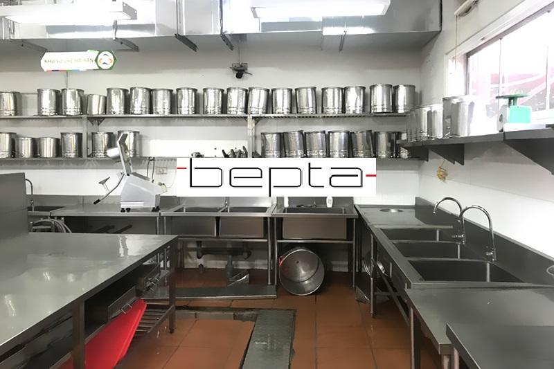 Nâng cấp, cải tạo bếp ăn trường liên cấp Đoàn Thị Điểm – Ecopark